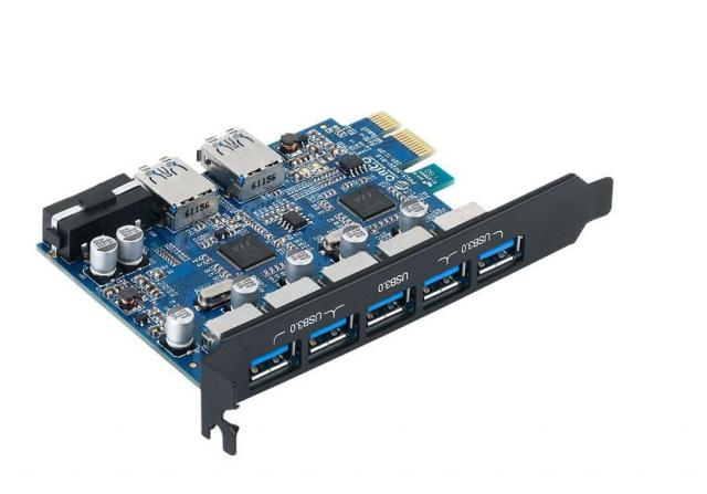 Продам Контроллер Orico PVU3-5O2U