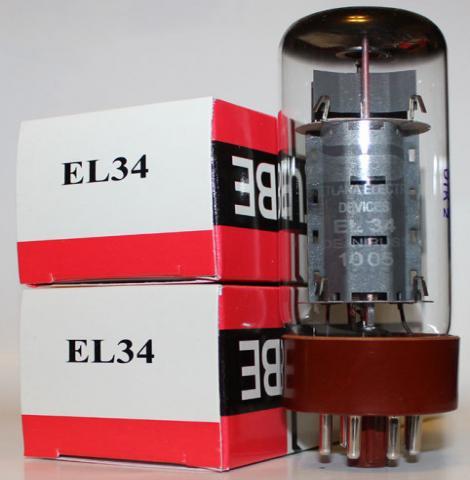 Продам Радиолампа EL34 Svetlana.