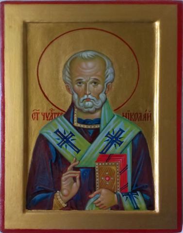 Продам Икона Святитель Николай Чудотворец