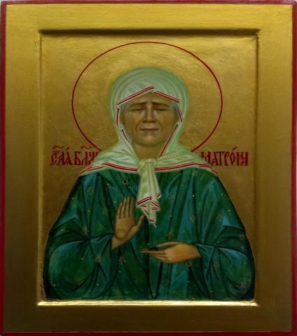 Продам Икона Св. Блаженная Матрона Моск.