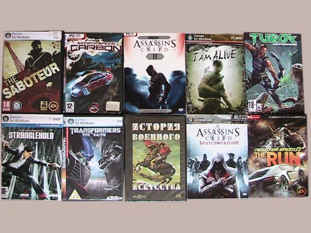 Продам игры компьютерные из домашней коллекции