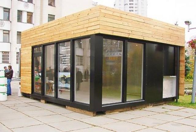 Предложение: Строительство павильонов, магазинов
