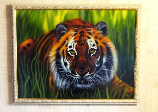 Продам картина тигр