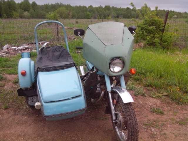 Продам: мотоцикл с коляской