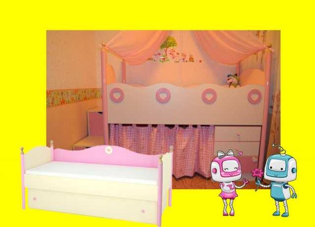 Продам Кроватки  Принцесса  для девочек