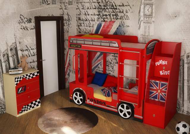 Продам Лондонский Автобуc кровать