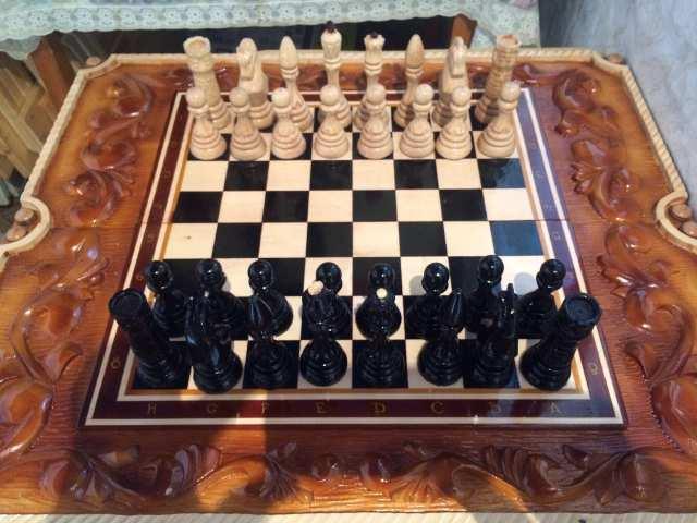 Продам Большие шахматы авторской работы