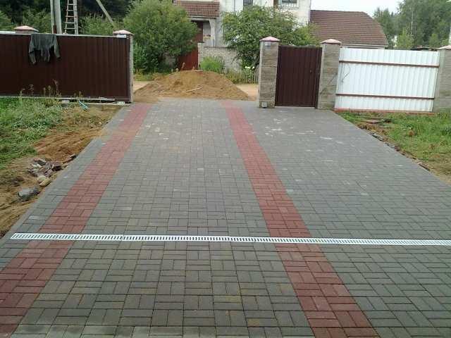 Предложение: Укладка тротуарной плитки (брусчатки).