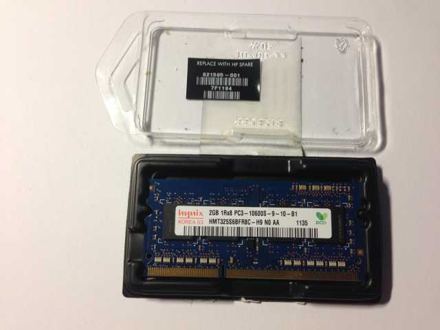 Продам Оперативная память Hynix 2GB 1RX8 PC3-10