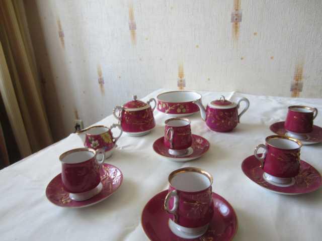 Продам чайный сервиз Кузнецов конца 19-20 в