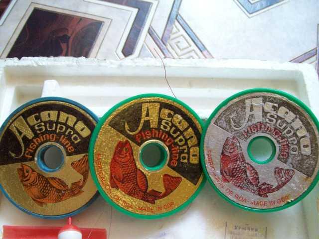 Продам Леска производства G.D.R (цветная,голуба