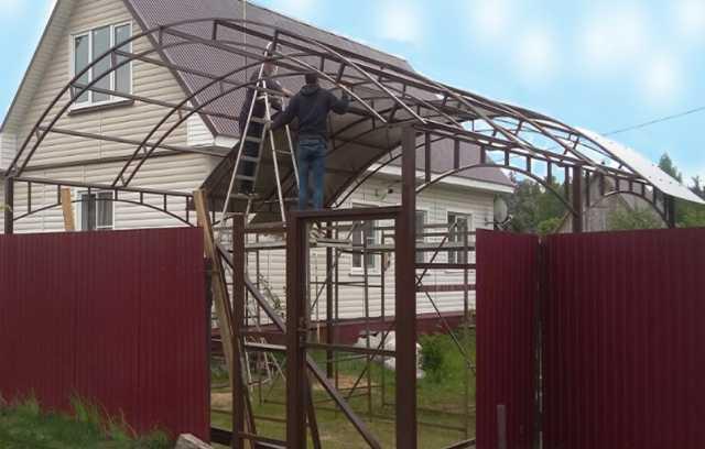 Предложение: Для крыльца, балкона навес