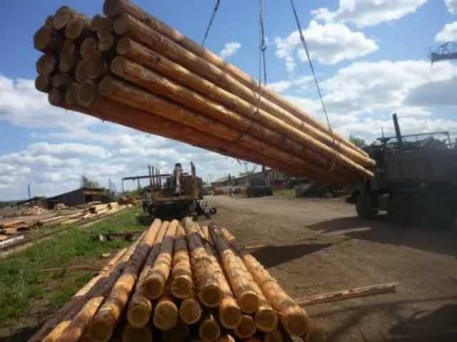 Продам Опоры ЛЭП деревянные