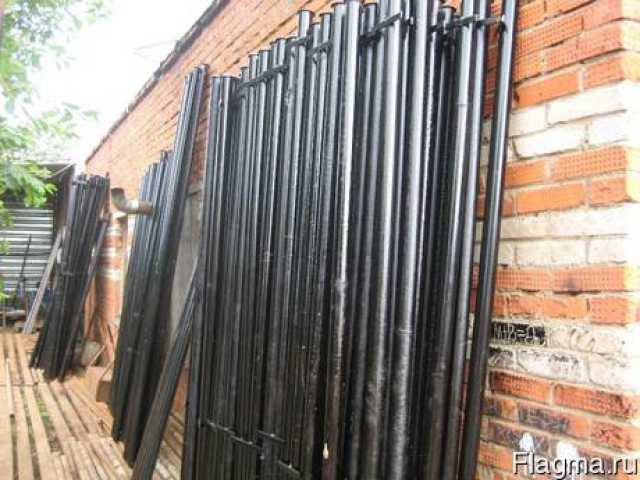 Продам: Трубы и столбы с доставкой