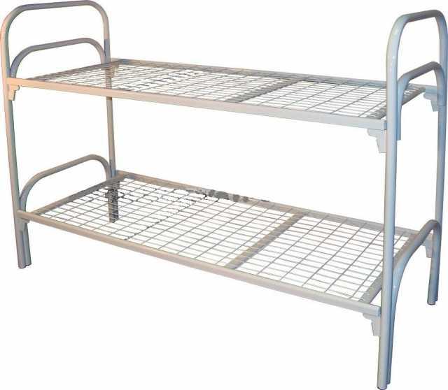 Продам: Кровати на металл каркасе для гостиниц