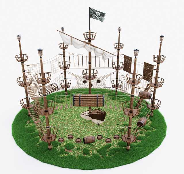 Предложение: Веревочный парк