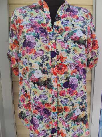 Продам: Рубашка женская с фурнитурой 50-58 разме