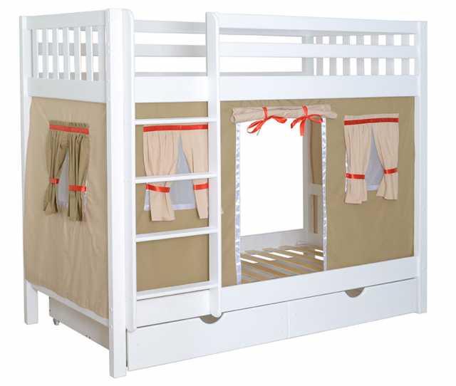 Продам 2-х ярусную кровать новую Галчонок