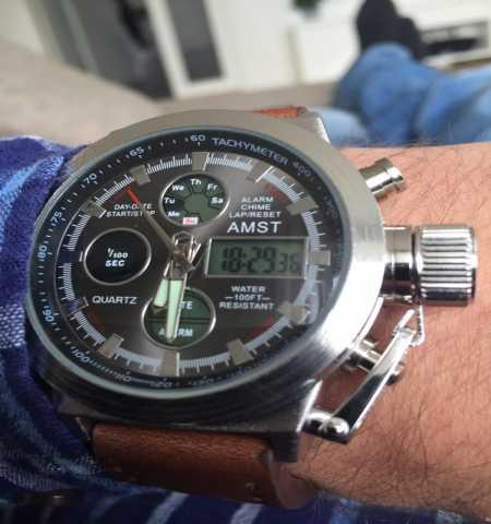 Продам часы AMST 3003