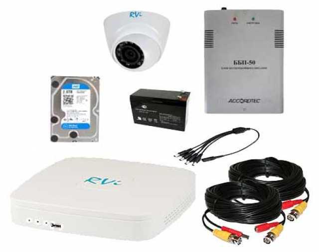 Продам: Готовые комплекты видеонаблюдения