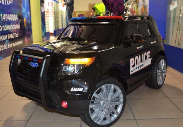 Предложение: Детская полицейская машина с пультом