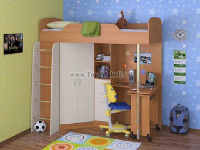 Продам: Детский уголок с кроватью-чердаком