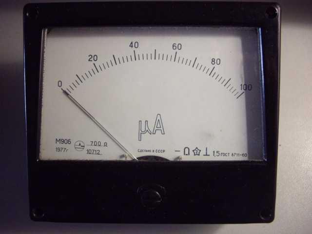 Продам: Микроамперметра М906 Новый