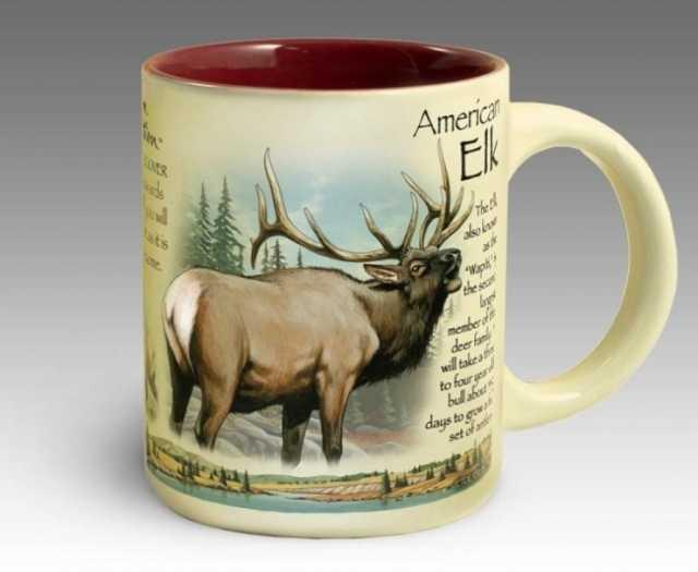 Продам Кружка керамическая American Elk