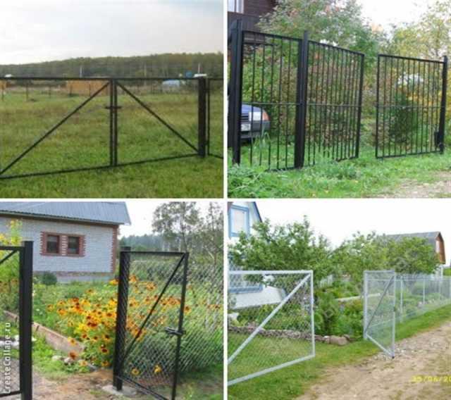 Продам Садовые ворота и калитки с бесплатной до