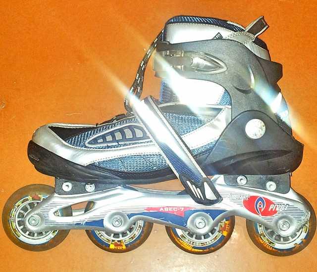 Продам роликовые коньки amigo sport (подробне