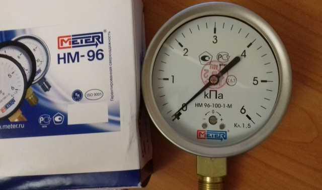 Продам Напоромер (манометр) НМ 96-100-1-М