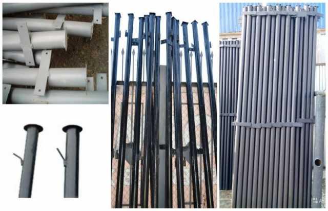 Продам: Столбы металлические