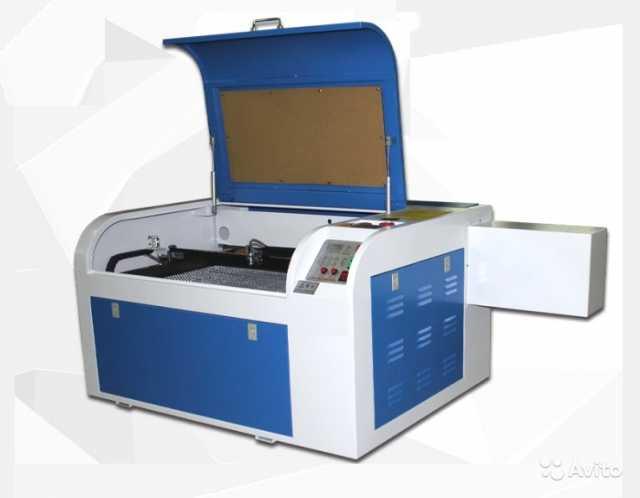 Продам Лазерный гравер 6040 мощностью 80 Ватт.