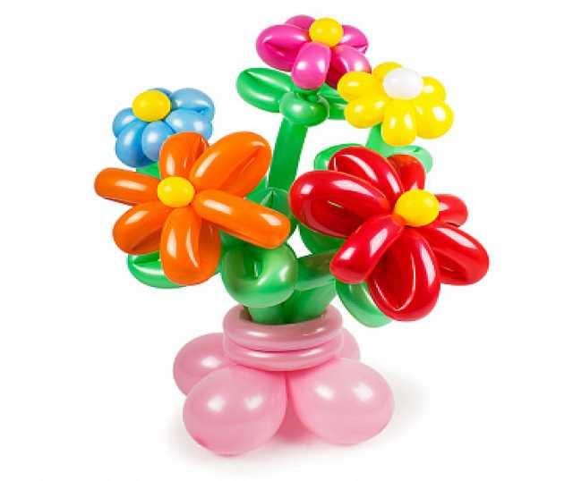 Продам Цветы из шаров в горшочке