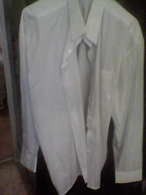 Продам Рубашка белая, с длинным рукавом, р.45