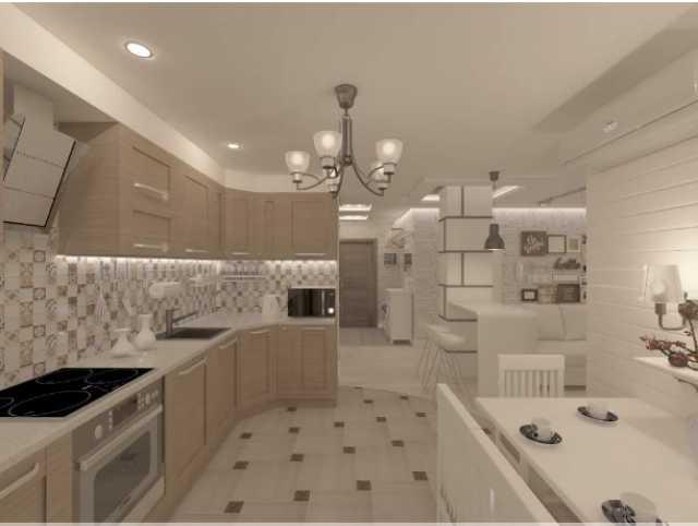 Предложение: Дизайн интерьера квартиры от студии Хотт