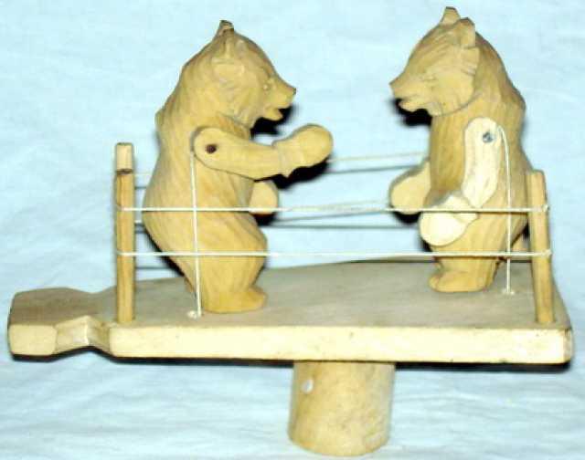 Продам медведи на ринге. богородская игрушка