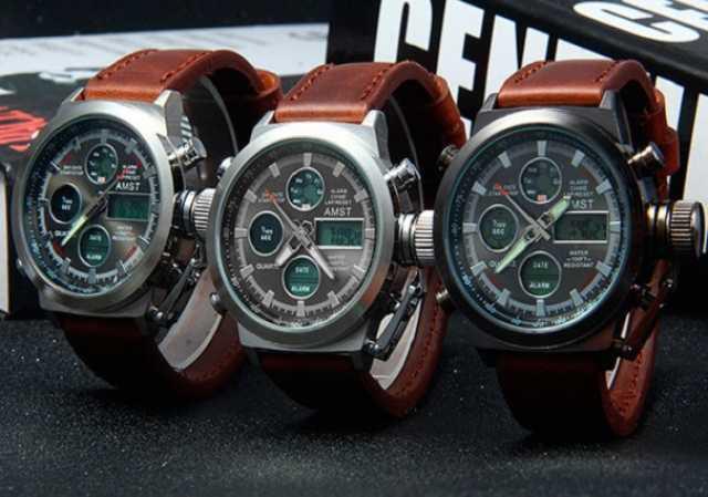 Продам Водонепроницаемые бронированные часы