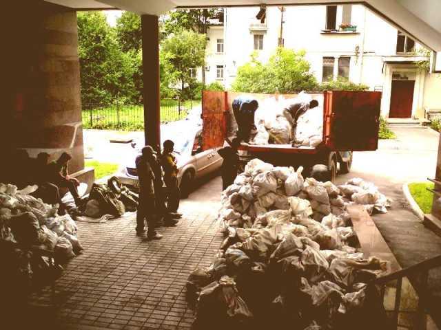 Предложение: Погрузим строительный мусор