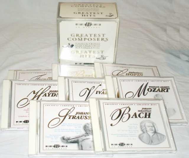 Продам Великие композиторы. Greatest Hits. 8СД