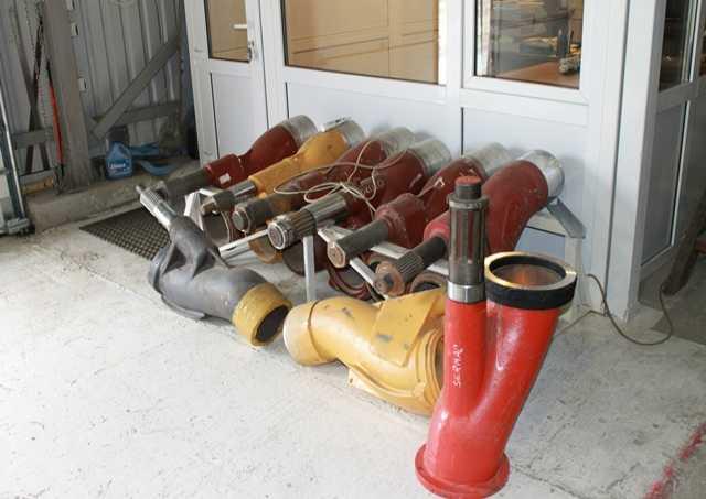 Продам: Шибер для бетононасосов