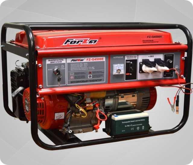 Продам Генератор forza FZ-G4500E 3,3кВт (новый)