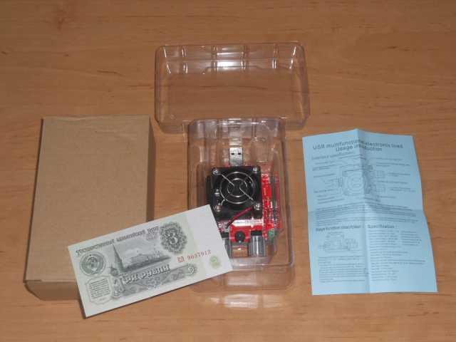 Продам  USB тестер со встроенной нагрузкой