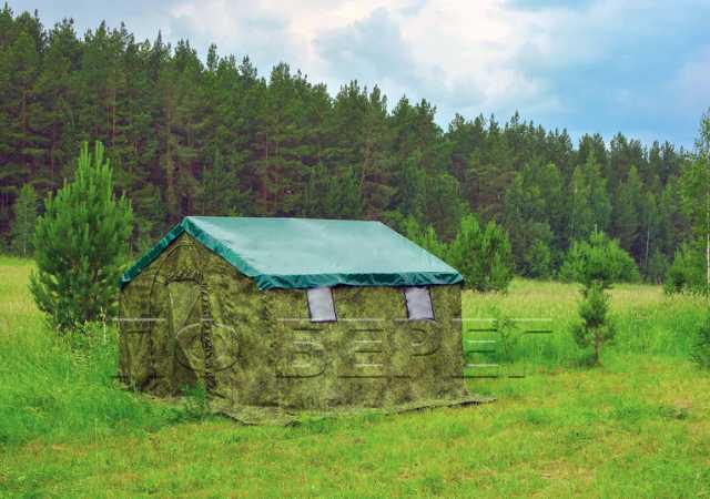 Продам Армейская палатка БЕРЕГ 5М2 двухслойная