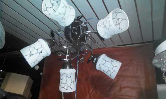 Продам: Новая люстра Л-33 на 5 ламп