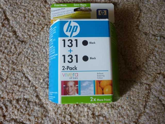 Продам картриджи HP131X2 новые.запечатаны
