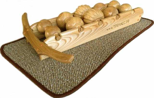 Продам:  Тремасс - деревянный роликовый массажер