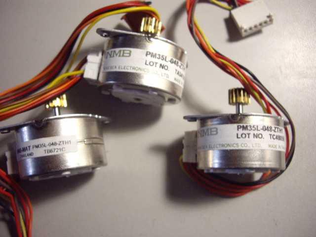 Продам: Двигатель NMB pm35L-048-ZTH1 шаговый