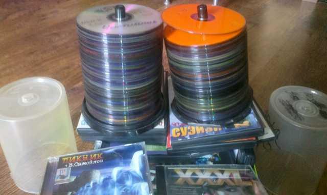 Продам CD-DVD