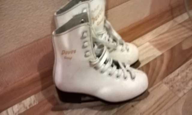 Продам: коньки для фигурного катания для девочки